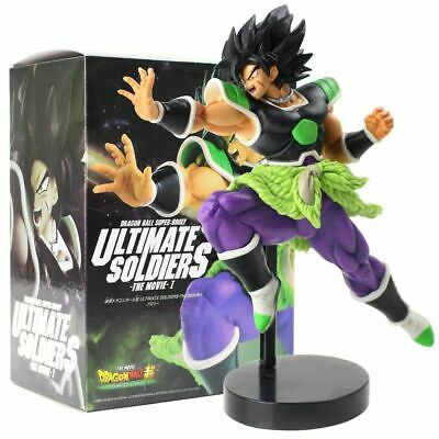 Dragon ball Super Broly figure Statue Ultimate Soldiers Movie BANPRESTO rare