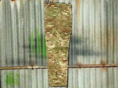 """New British Army Issue Mtp Camo Warm Weather Combat Trousers 85/84/100 32""""w 33""""l"""