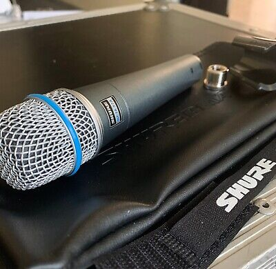 Shure Beta 57A Professional Dynamic Microphone Supercardioid Wired XLR