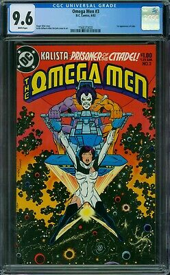Omega Men 3 CGC 9.6 - White Pages