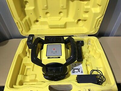 Leica Rugby 610 Rotating Laser Level With Receiver