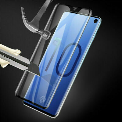 For Samsung Galaxy S10 Plus S10e Full Cover Tempered Glass Screen Protector Film