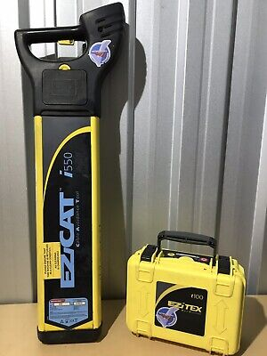 EZICAT i550 CABLE AVOIDANCE TOOL CABLE DETECTOR With  Genny