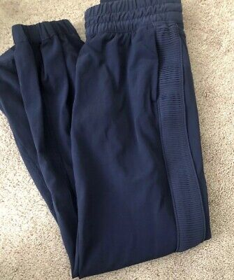 Ivivva By Lululemon Size 10 Your Pursuit Pant Blue DEIN  Preowned