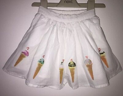 Girls Next Age 12-18 Months - Ice Creams Skirt From Pumpkin Patch