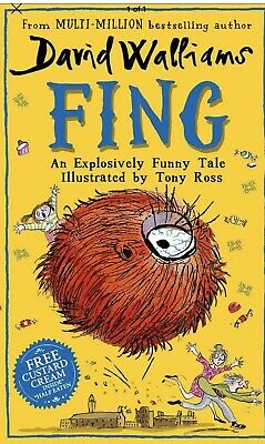 NEW OUT  Fing by David Walliams (Hardcover 2019) Bestseller Children Book,