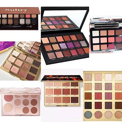 Eyeshadow Palettes❤️💜8/12/16 Colours Different Types & Shades✔️Top Quality