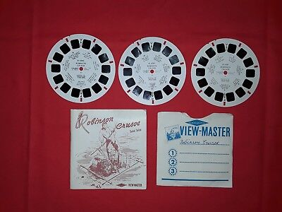 View Master,Reel,Robinson Crusoe,french edition