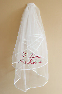 Personalised Veil, Hen Party Veil, Bride To Be