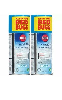 RID Home Lice Control Spray 5 oz (Pack of 2)