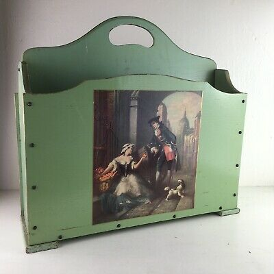 Vintage Country House Magazine Newspaper Rack
