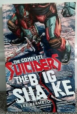 THE COMPLETE SUICIDERS: THE BIG SHAKE TPB Graphic Novel, Vertigo Comics