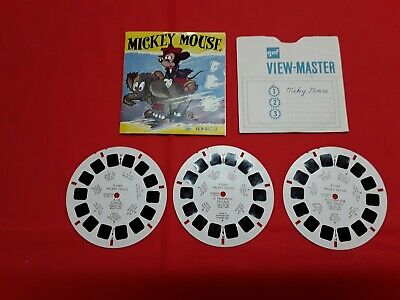 View Master Reel Micky Mouse,french edition.