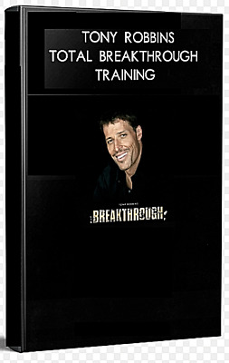 Anthony Tony Robbins Total Breakthrough Training Course Motivation Mindset Coach
