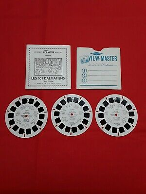 View Master Reel 101 Dalmatiens,french Edition.