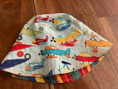 Boys Double Sided Bucket Hat - toddler or baby