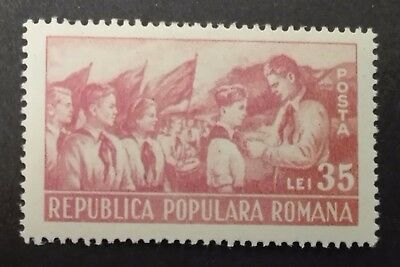 ROMANIA-RUMUNIA STAMPS MNH - The Second Anniversary of Young Pioneers, 1951, **