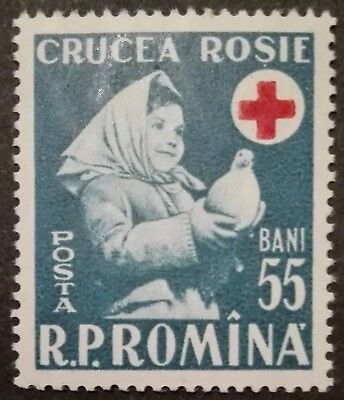 ROMANIA-RUMUNIA STAMPS MNH - Red Cross,1957,**