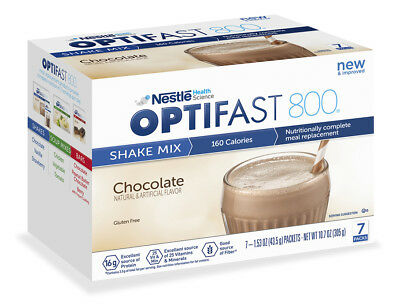 Optifast® 800 Powder Shakes | 1 Boxes | 7 Serv | Chocolate Flavor