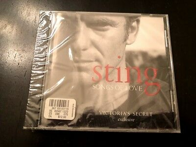 NEW Song of Love (Victoria's Secret Exclusive) by Sting (CD, 2003, A&M)