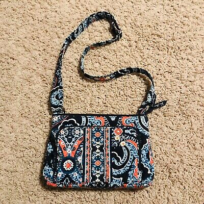 de03a81674d7 Vera Bradley Marrakesh Pattern Little Hipster Crossbody Shoulder Bag Purse
