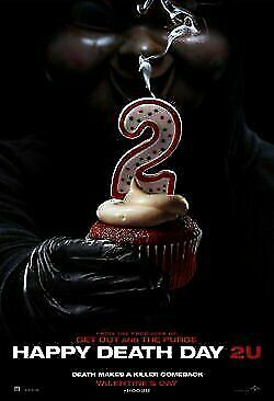 HAPPY DEATH DAY 2U -  Admits 2 - DOUBLE MOVIE PASS/Cinema Ticket