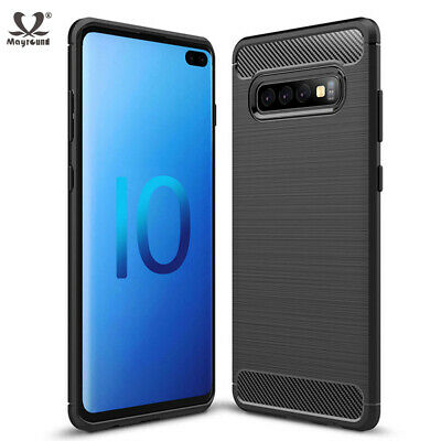 For Samsung Galaxy S10 Plus S10E Shockproof Slim Soft Silicone TPU Case Cover