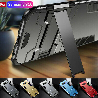 Heavy Duty Rugged PC+Silicone Armor Hard Case Cover For Samsung Galaxy S10+ S10e