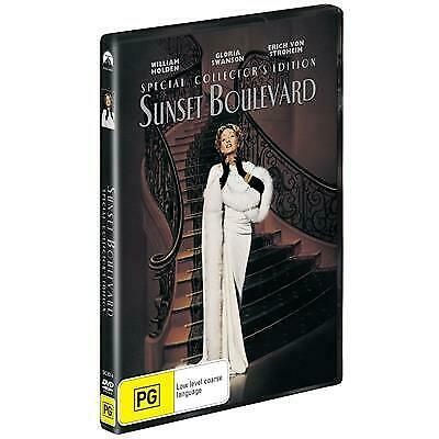 Sunset Boulevard (DVD, 2019) (Region 4) New Release
