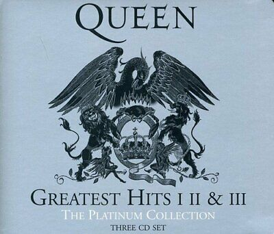 Queen - The Platinum Collection (3 discs) (CD) incl. GREATEST HITS vol. 1 - 3