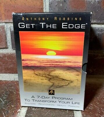 Anthony Robbins Get The Edge - Power Of Relationships  - 7 Day CD Set - 10 Disks