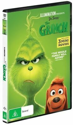 Grinch, The (2018) (DVD, 2019) (Region 2,4,5) New Release