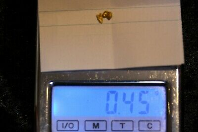 AUSTRALIA NATURAL GOLD NUGGET - NUGGETS WEIGHT 45g *** 99cent Start ***