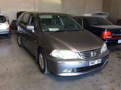 Honda oddesy 6 seater wagon low  klms had recent rwc done sold reg and rwc