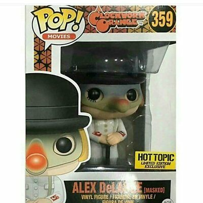 FUNKO POP! Movies - A Clockwork Orange - Alex DeLarge Masked #359 - HOT TOPIC