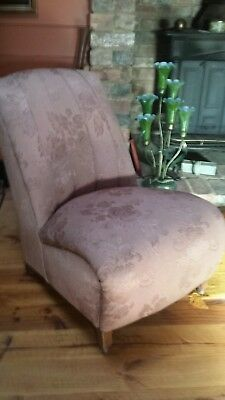 Antique ladies bedroom chair