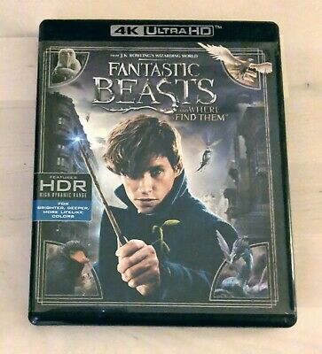 Fantastic Beasts and Where To Find Them - 4K UHD Bluray - REGION FREE IMPORT