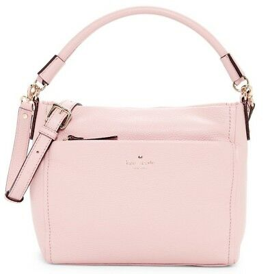 c5bd8f1d4cac96 Kate Spade New York Cobble Hill Little Curtis Leather Shoulder Bag Rosejade