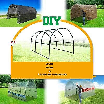 Hot Walk-in Greenhouse or Accessories Multi-usage PE & Mesh Cover or Steel Frame