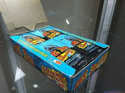 Vintage 1983 Topps Jaws 3-D Collector Cards Box Movie Memorabilia 36 Packs