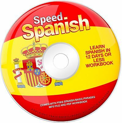 Learn Speed Spanish - Learn to Speak Spanish Course - PDF Book & Audio on CD