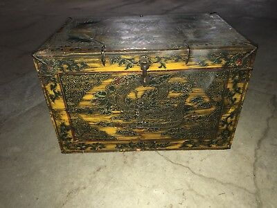 Oriental Styled Storage Ches