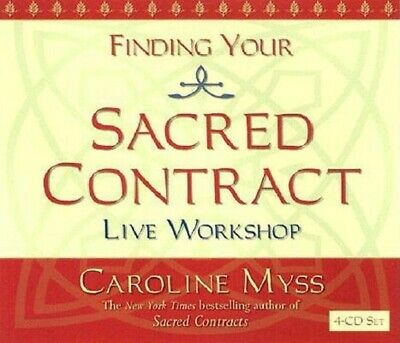 Finding Your Sacred Contract by Caroline Myss: New Audiobook