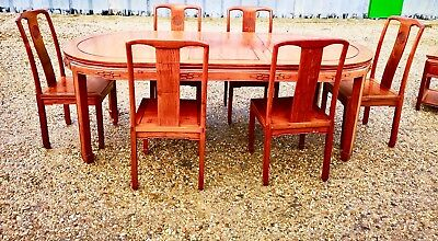 Chinese Dining Table Chair Set Design Ming Rrp 3200 Delivery Available