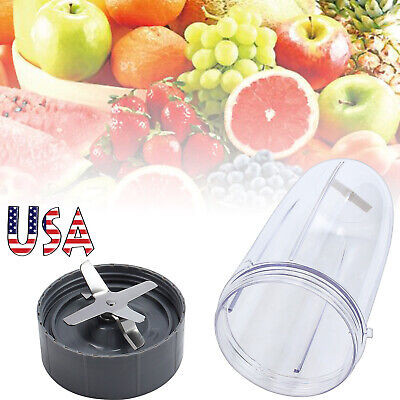 32oz ABS Colossal Cup + Extractor Blade Combo Fits For NutriBullet 600w 900w