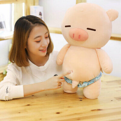 Pig Plush Doll Simulation Animal Stuffed Toy Girlfriend Gift Home Decor Noted
