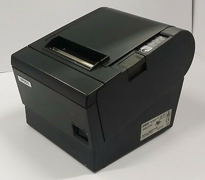 Epson TM-T88III M129C POS Thermal Receipt USB Label Printer Power Supply 880C