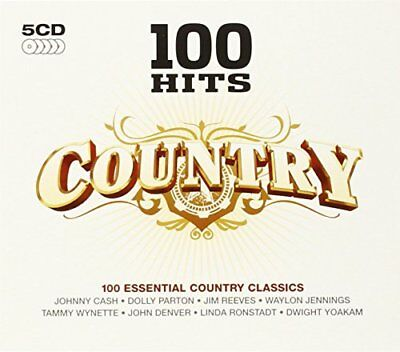 Various Artists - 100 Hits: Country - Various Artists CD TGVG The Cheap Fast