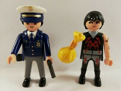 Playmobil lot 3 pistolets pour policiers commissariat police bandits Top agents