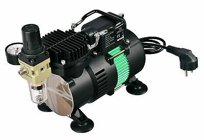 Airbrush Compressor with 2X Air Fan - The Best Performance Tool for Airbrush